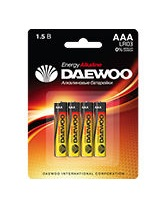 Батарейка AAA Daewoo LR03 (1 шт.)