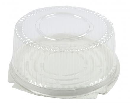Одноразовый контейнер для торта d=235 мм (1 шт.)