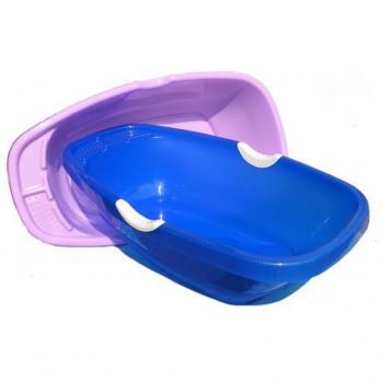 Ванна детская 46 л розовая ПНД
