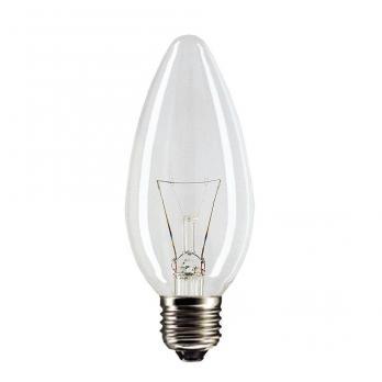 Лампа накаливания E27 свеча ДС-40W