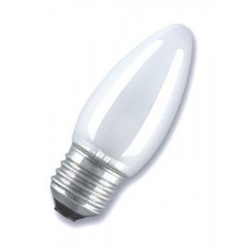 Лампа накаливания E27 свеча ДСМТ 40W матовая