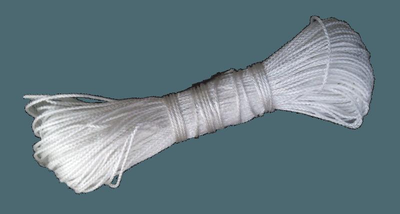 Шнур-фал 2 мм 25 м белый