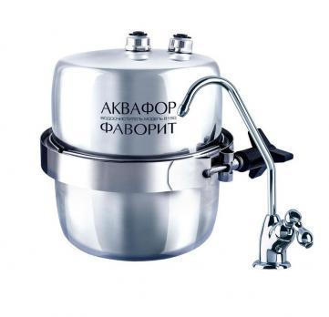 Система водоочистки Аквафор Фаворти B150 установка под мойку