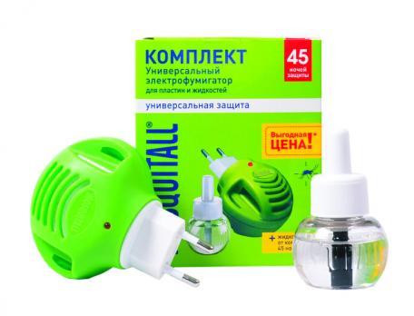 Фумигатор Москитол + жидкость 45 ночей Универсальная защита