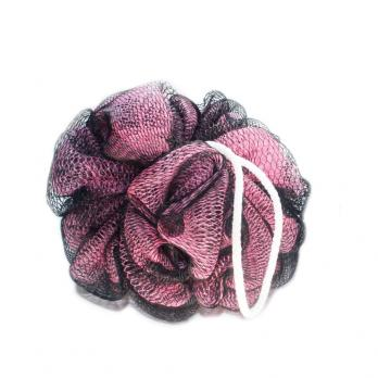 Мочалка шарик Двухцветная нейлон Pleasure сolor (40 г)