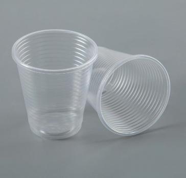 Одноразовый стакан 100 мл прозрачный (10шт.)