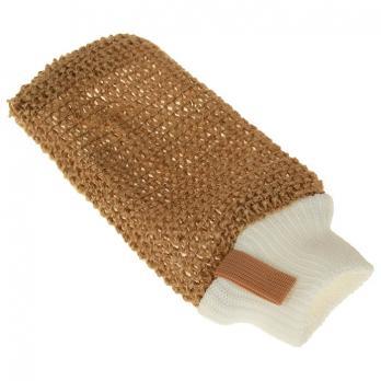 Мочалка рукавица джутовая