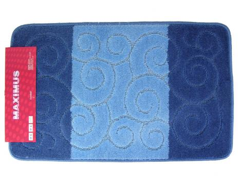 Коврик 60x100 см multicolor тёмно-синий