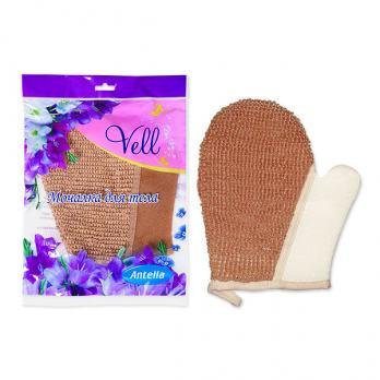 Мочалка-рами рукавица 22x18,5 см Vell