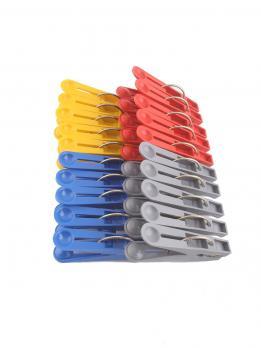 Прищепки пластиковые Лапочка (большие) (20 шт.)