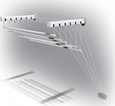 Сушилка для белья настенно-потолочная Лиана лифт-6 1,6 м