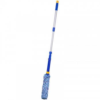 Швабра МОП отжимная Лайма телескопическая ручка 96 см