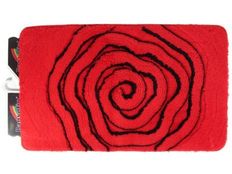 Коврик 60x100 см Banyolin soft pile 27 мм красный