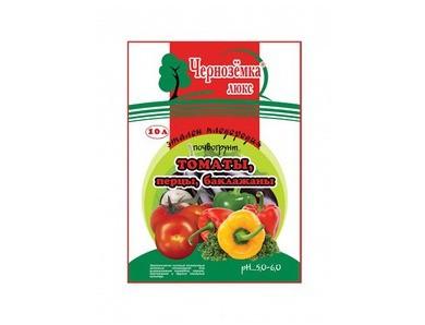 Почвогрунт Черноземка томаты, перцы, баклажаны (10 л)
