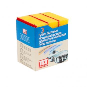 Губка 115x75 мм для деликатной чистки (3 шт.)