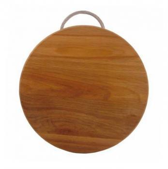 Доска разделочная деревянная d=300 мм бук