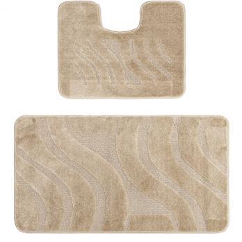 Комплект ковриков 50x80 см Confetti Maximus бежевый (2 шт.)