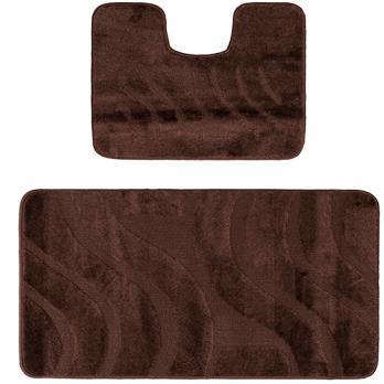 Комплект ковриков 50x80 см Confetti maximus коричневый (2 шт.)