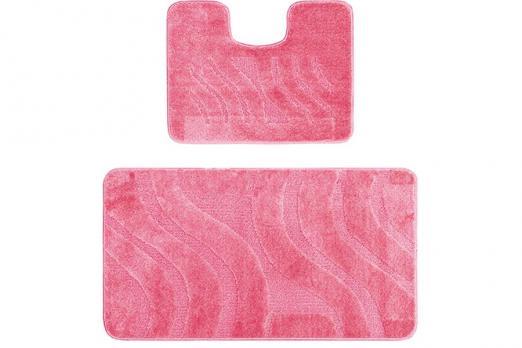 Комплект ковриков 50x80 см Confetti maximus розовый (2 шт.)