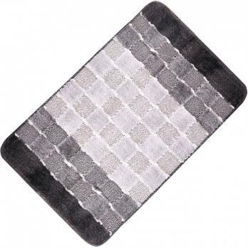Коврик 50x80 см Banyolin silver серый