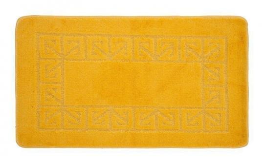Коврик 50x80 см Banyolin желтый