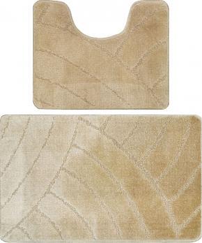 Комплект ковриков 50x80 см Banyolin classic бежевый (2 шт.)
