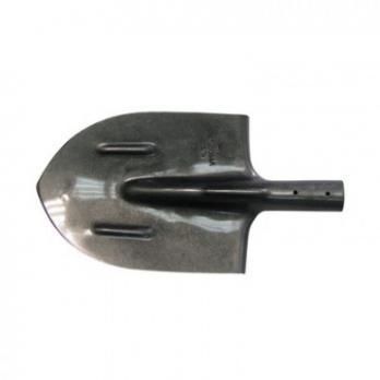 Лопата штыковая остроконечная из рельсовой стали с ребрами жесткости NA1695