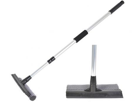 Швабра-окномойка Марья-Искусница 20 см телескопическая ручка 120 см