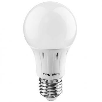 Лампа светодиодная E27 шар Онлайт 6W/А60/G45 4000K