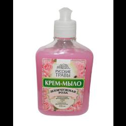 Мыло жидкое Золушка жемчужная роза (300 мл)