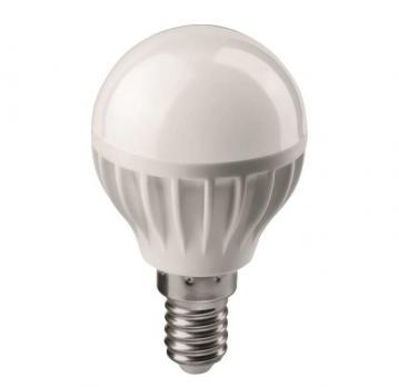 Лампа светодиодная E14 шар Онлайт 8W 4000K