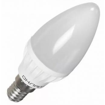Лампа светодиодная E14 свеча Онлайт 6W 2700K