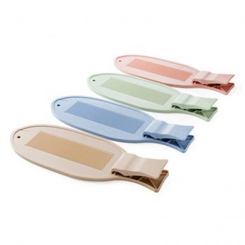 Доска разделочная пластиковая с зажимом для рыбы