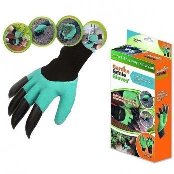 Перчатки садовые с когтями NA1792 (1 пара)