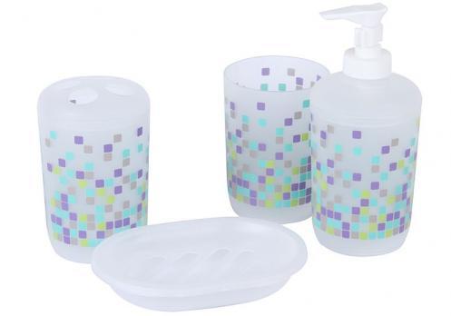 Набор для ванной комнаты RPL-350012 (4 предмета)