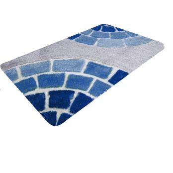 Коврик 60x100 см Banyolin soft pile Керамик голубой