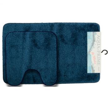 Комплект ковриков 60x100 см Aqua-Prime Be Maks синий (2 шт.)